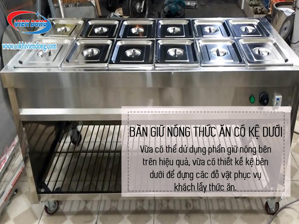 tủ hâm nóng thức ăn công nghiệp
