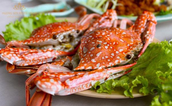 hải sản hấp