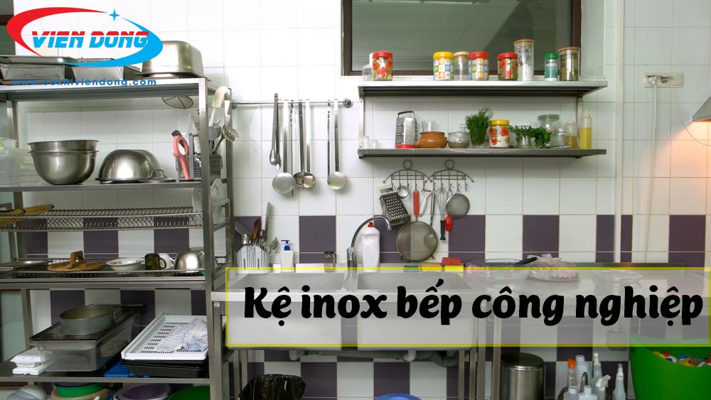 Đơn vị mua kệ chén inox 3 tầng chất lượng - Thiết bị nhà bếp công nghiệp