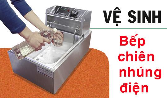 máy chiên gà rán