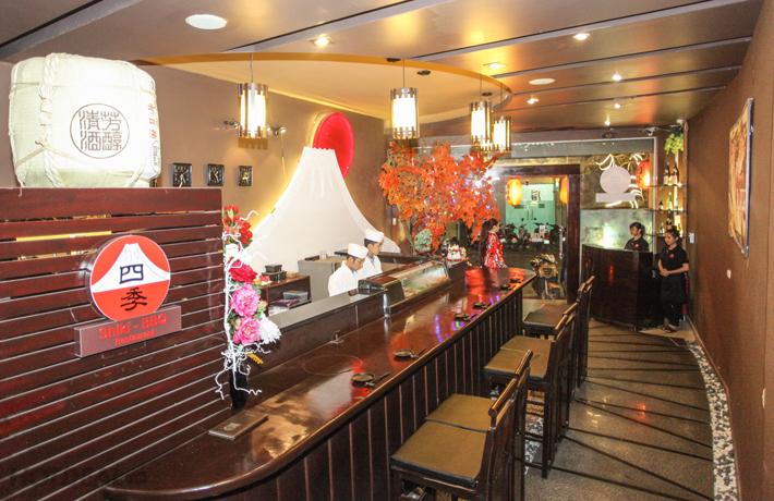 nhà hàng nướng Nhật Bản
