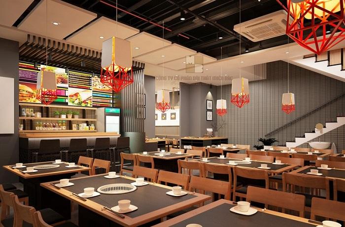 nhà hàng nướng phong cách Hàn Quốc