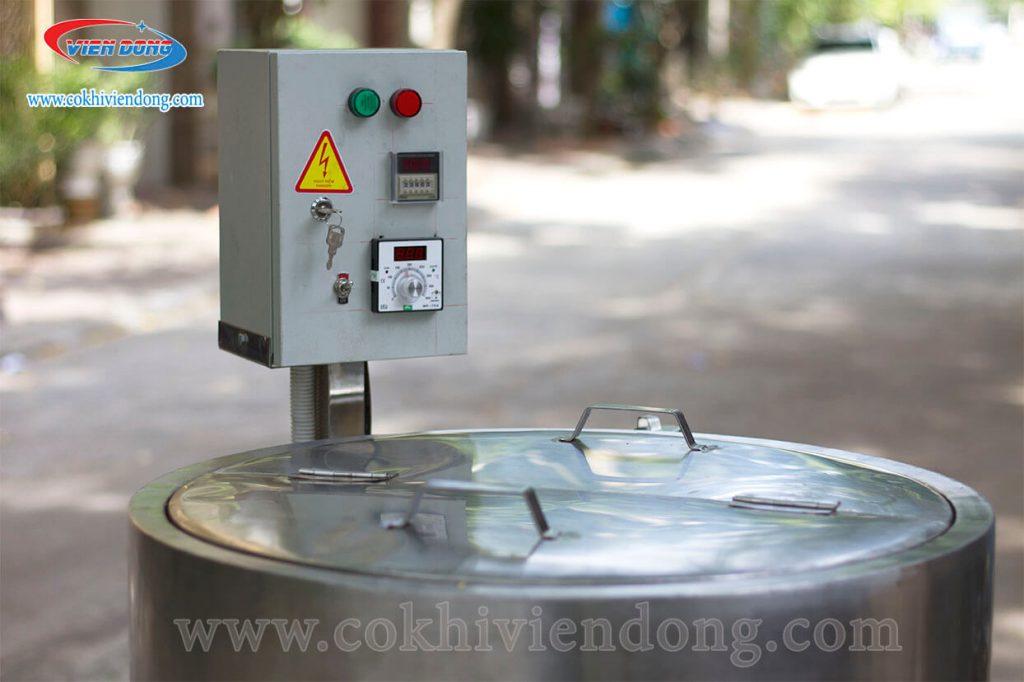 bảng điều khiển nồi điện nấu cháo công nghiệp