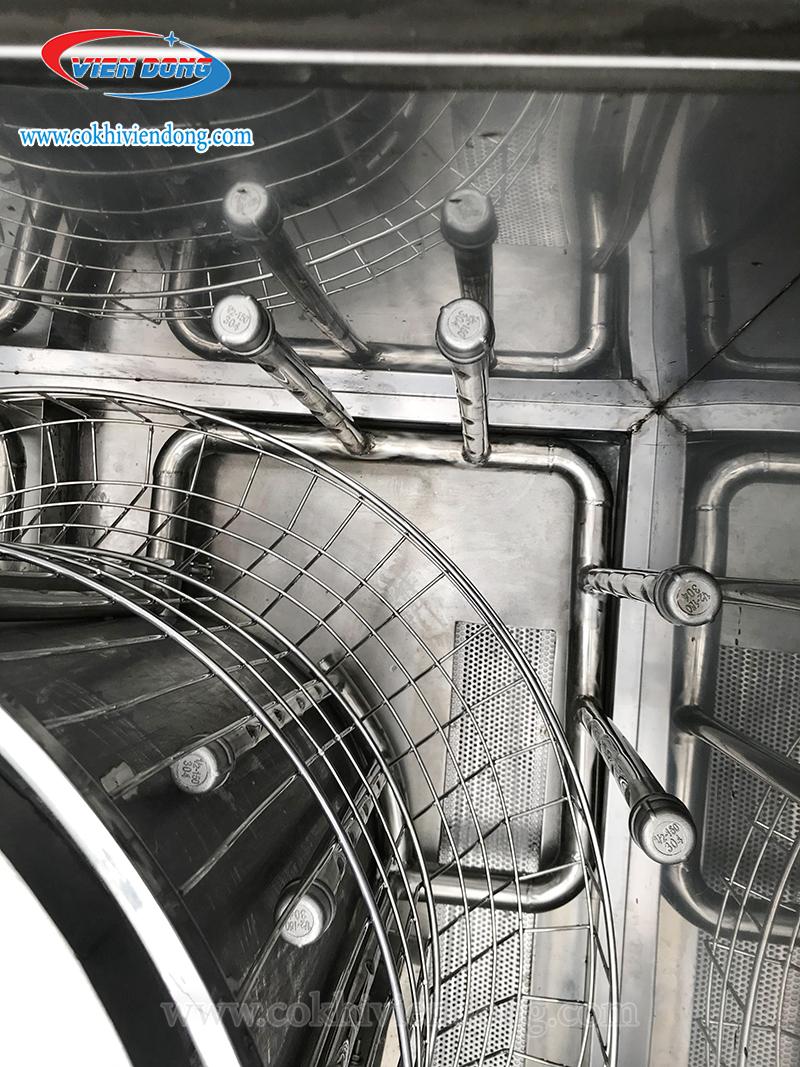 Bồn rửa máy rửa khay bát đĩa công nghiệp