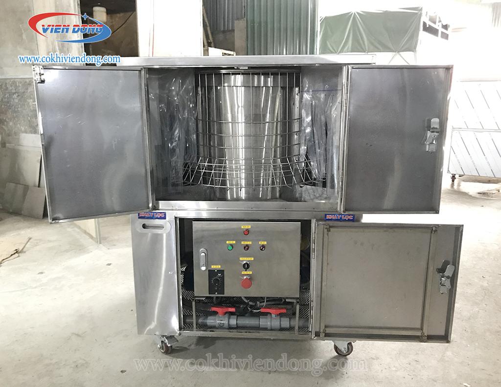 Cấu tạo máy rửa khay bát đĩa nhà hàng