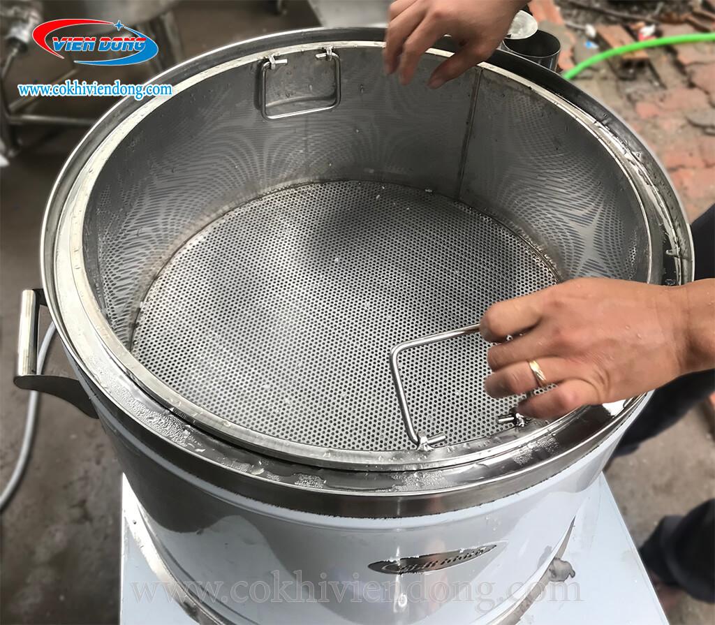 Nồi nấu xôi điện 30cm