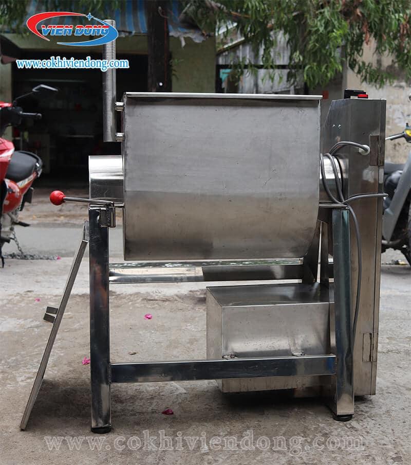 Máy trộn thịt nằm ngang